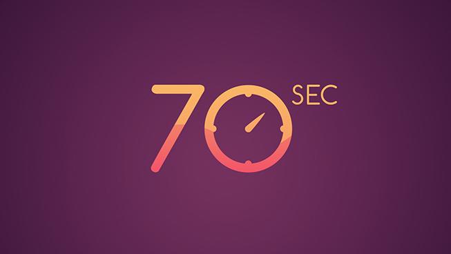 70 Sec Video Preview