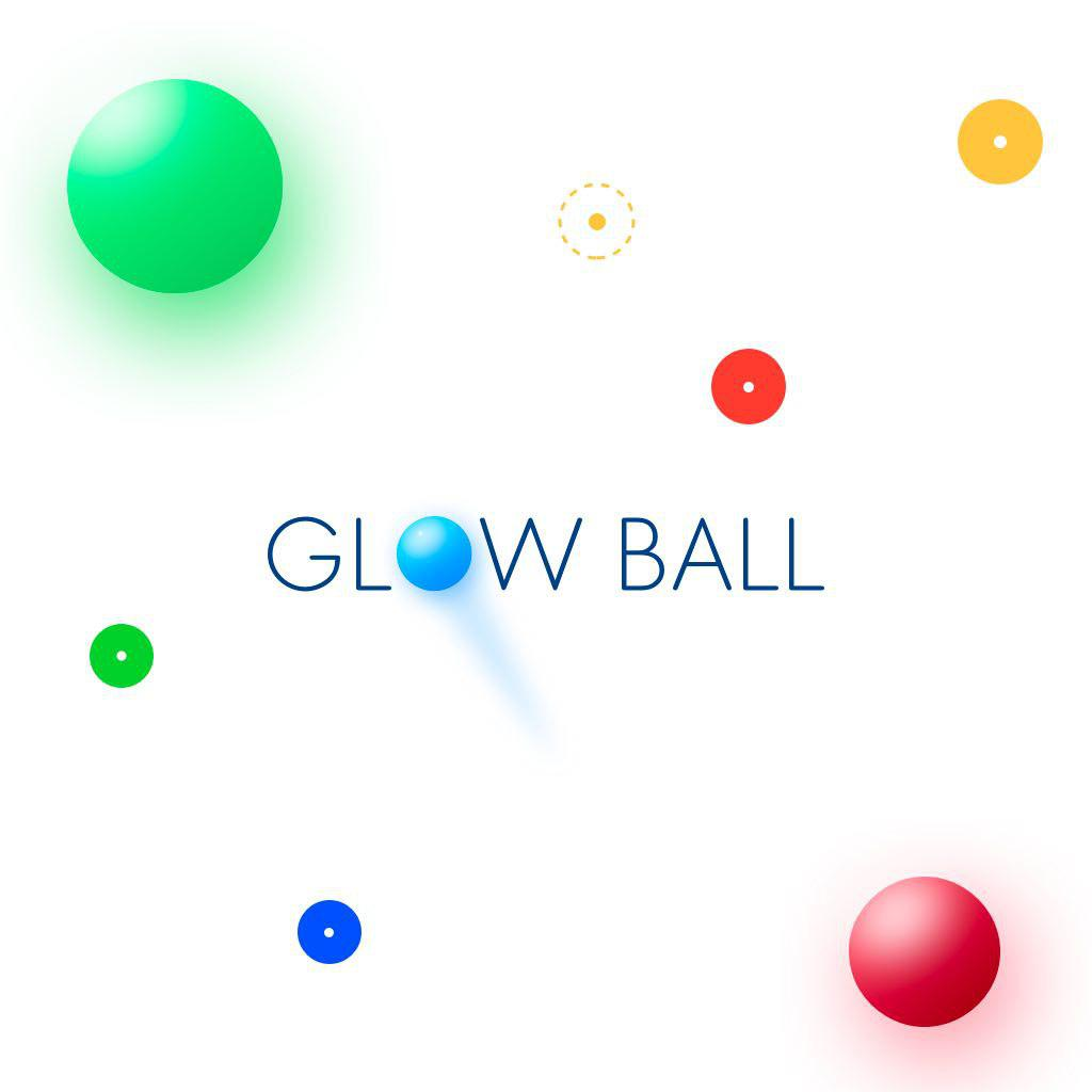 Glowball - tap and color